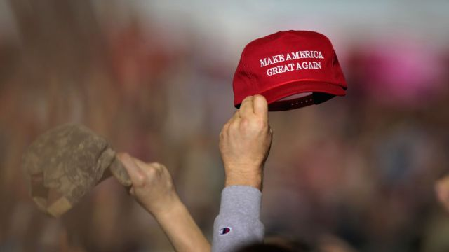 gettyimages 952548904 Trump Says He Relishes Enthusiasm, Love at Michigan Rally