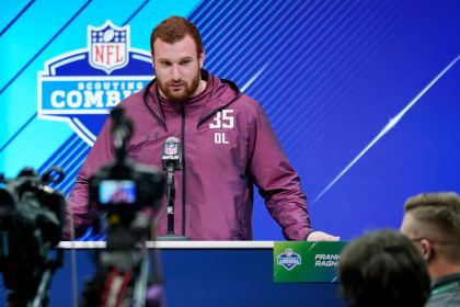 gettyimages 926018196 Lions draft Arkansas center Frank Ragnow No. 20 overall