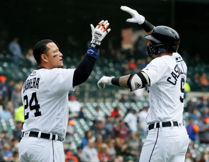 gettyimages 949663534 Castellanos lifts Tigers to 12 4 win over Royals