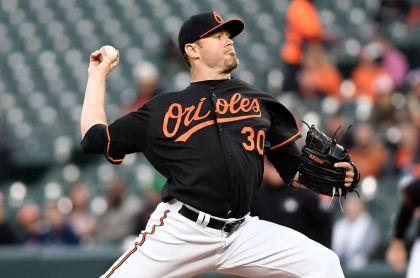 gettyimages 952231396 Tillman, Orioles Both End Skids With Win Over Tigers