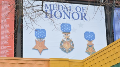 wsuathletics Wayne State makes banners naming Medal of Honor recipients