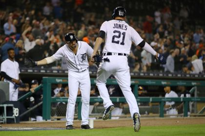 gettyimages 958973808 Tigers Rally Vs Andrew Miller For 9 8 Win Over Indians