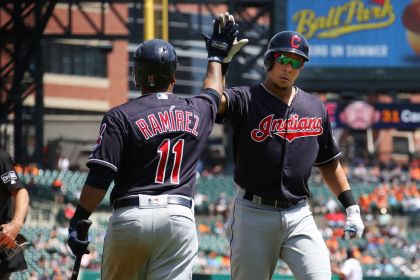 gettyimages 959245120 Bauer fans 10 as Indians blank Tigers 6 0