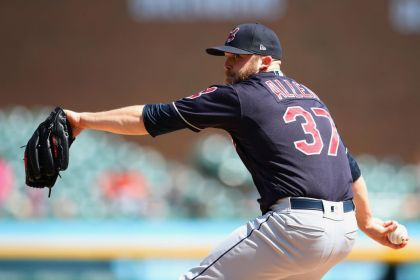 gettyimages 959266712 Bauer fans 10 as Indians blank Tigers 6 0