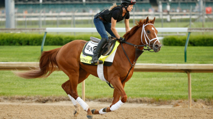gettyimages 954212510 Belmont Stakes: Justify Running For The Triple Crown