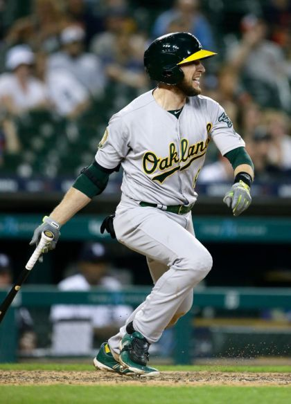 gettyimages 984837564 Lowrie, As Rally From 6 Down To Beat Tigers 9 7