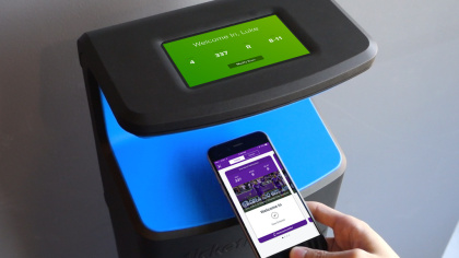 ticketmaster presence phone tapping enclosure1 NFL Stadiums To Have Fully Digital Ticket Systems In 2018 19 Season