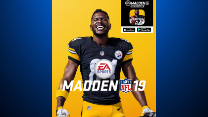 antonio brown madden Steelers WR Antonio Brown Unveiled As Madden NFL 19 Cover Athlete