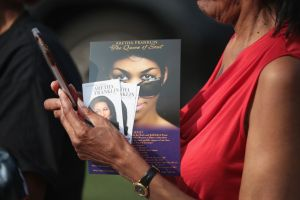 gettyimages 10248189841 Latest: Aretha Franklins Public Viewing, Fans Mourn At The Charles H. Wright Museum