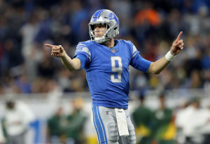 gettyimages 900108504 Matt Stafford Has Modest Goals For Lions Offense vs. Raiders