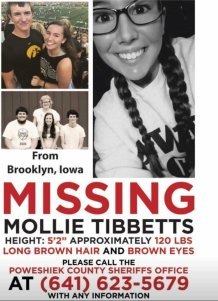 s096760828 Latest: Suspect To Make First Court Appearance In Mollie Tibbetts Case, Says He Blacked Out Before Murder