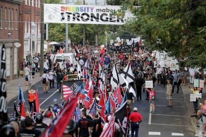 s097257707 State Of Emergency Declared In Charlottesville For Unite the Right Anniversary