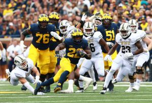 gettyimages 1029336476 No. 19 Michigan aims to maintain momentum with win over SMU