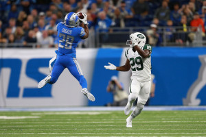 gettyimages 1031003760 Darnold Recovers From 1st play Pick 6, Helps Jets Rout Lions
