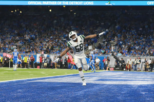 gettyimages 10310727921 Darnold Recovers From 1st play Pick 6, Helps Jets Rout Lions