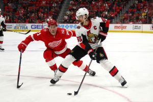 gettyimages 940383184 Sharks Acquire Erik Karlsson From Senators