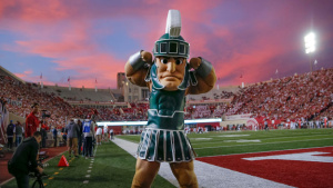 sparty1 Spartans, Wolverines Showing Respect Before Big Matchup