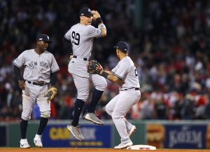 gettyimages 1046917854 Out At Home: Yankees Eliminated By Rival Red Sox In ALDS