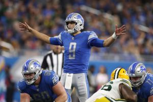 gettyimages 1051009532 Lions Go Into Bye On A High After Beating Packers 31 23