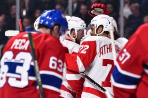 gettyimages 1052216720 Drouin Scores 2 To Lead Canadiens In 7 3 Win Over Red Wings