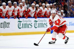 gettyimages 1052478456 Red Wings Get First Home Win, 4 2 Over Stars