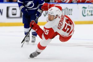 gettyimages 1052485558 Red Wings Get First Home Win, 4 2 Over Stars