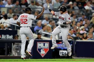 gettyimages 1052766868 Out At Home: Yankees Eliminated By Rival Red Sox In ALDS