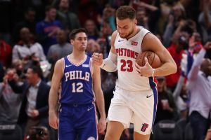 gettyimages 1052858712 Griffin Scores 50 Points, Pistons Top 76ers 133 132 In OT