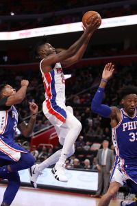 gettyimages 1052860676 Griffin Scores 50 Points, Pistons Top 76ers 133 132 In OT