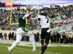 gettyimages 1054359244 Michigan State Halts Purdues Run, 23 13