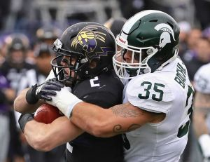 gettyimages 900936472 Spartans Getting A Lift From ROCKY Lombardi