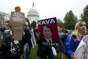 s099760950 1 Activists Descend On Washington To Protest Kavanaugh