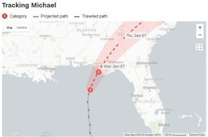 s100027856 Hurricane Michael, Nearing Landfall, Could Be Florida Panhandles Worst Storm In A Century