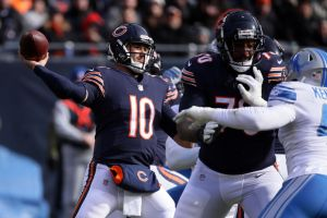 gettyimages 1060249868 Lions Secondary Unable To Stop Trubisky In Loss To Bears