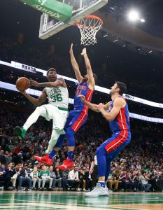 gettyimages 1055599372 Dinwiddie Hits Late 3, Nets Beat Pistons 120 119 In OT