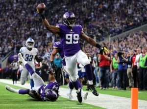 gettyimages 1057315960 Sad Sack Lions: Stafford Downed 10 Times In Loss To Vikings