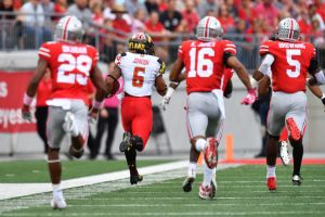 gettyimages 858767368 Maryland Turns Focus To Michigan State During Ongoing Saga