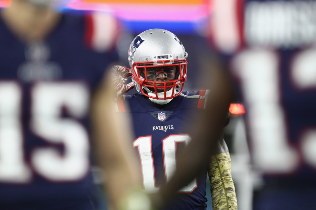 GettyImages 1057560684 Mental Health Concerns Has Patriots Josh Gordon Steeping Away From NFL