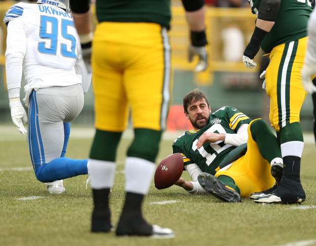 GettyImages 1088185958 Lions Crush Packers In Season Finale 31 0