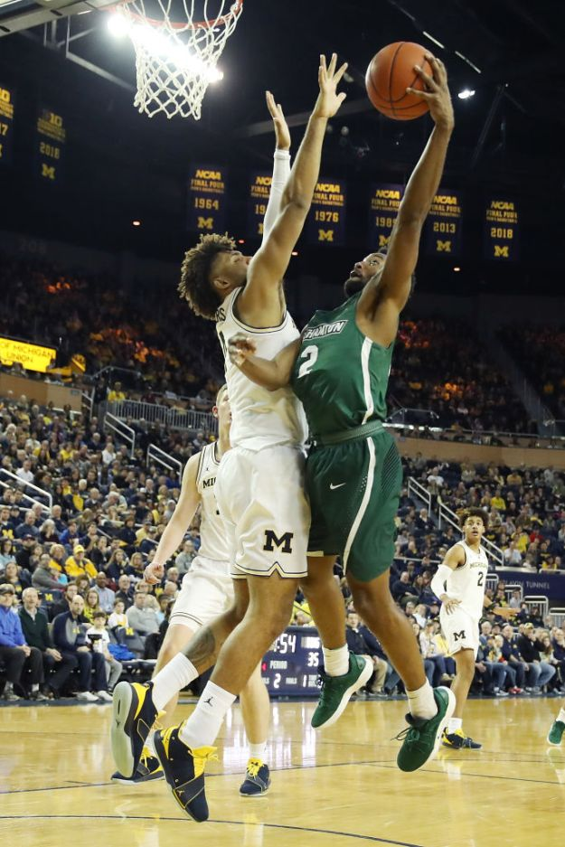 GettyImages 1088195766 Binghamton Overpowered By No. 2 Michigan