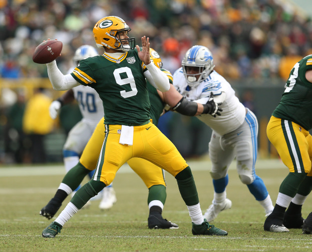 GettyImages 1088224530 Lions Crush Packers In Season Finale 31 0