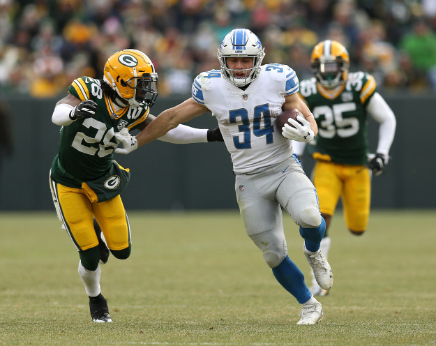 GettyImages 1088224550 Lions Crush Packers In Season Finale 31 0