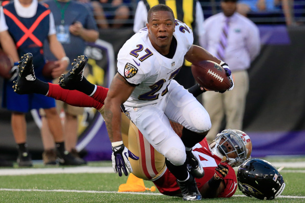 GettyImages 453343662 Ray Rice Talks About Domestic Violence, NFL