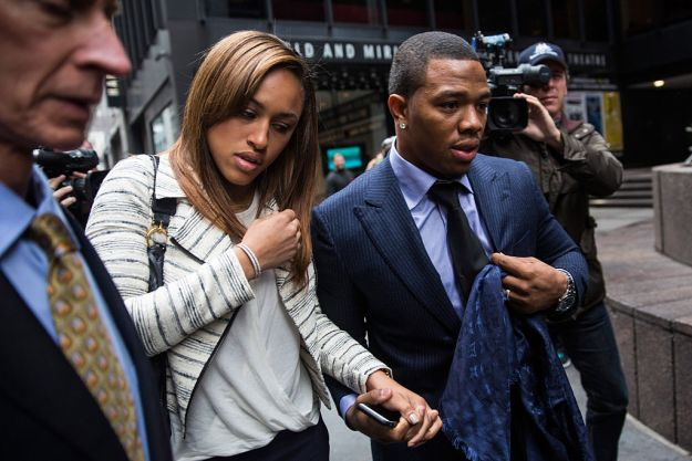 GettyImages 458443318 Ray Rice Talks About Domestic Violence, NFL