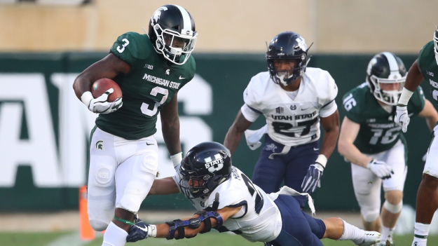 gettyimages 1025637620 cw dl 1025x576 MSU's LJ Scott Will Try His Luck In NFL Draft