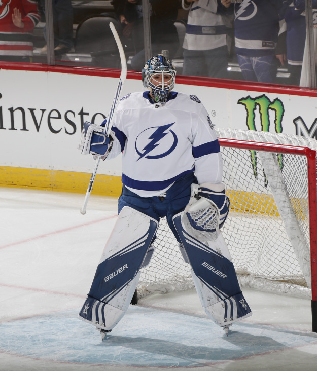 gettyimages 1077450138 Lightning Beat Red Wings 6 5 In Shootout