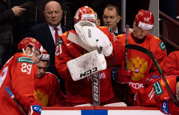 gettyimages 1077320388 Russia Falls To USA In World Junior Semi Final