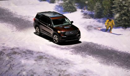 gettyimages 1079901728 Ford Unveils Revamped 2020 Explorer SUV