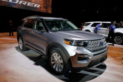 gettyimages 1079906988 Ford Unveils Revamped 2020 Explorer SUV