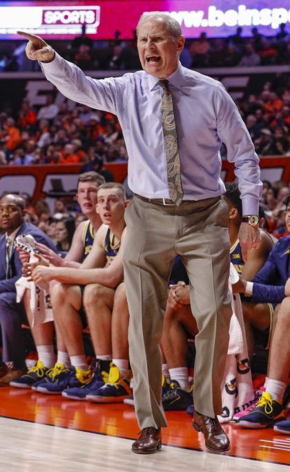 gettyimages 1080501132 e1547238549977 No. 2 Michigan Improve To 16 0 Beats Illinois 79 69